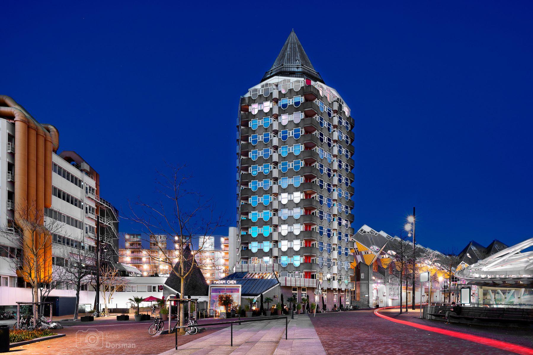 Potlood gebouw - Rotterdam